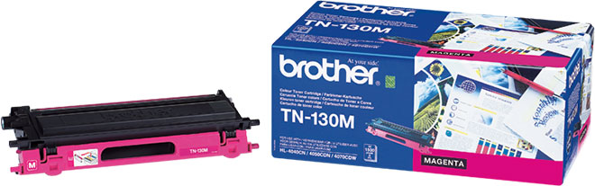 Kuva tuotteesta Brother TN-130M Magenta