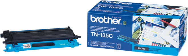Kuva tuotteesta Brother TN-135C Syaani